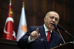 Thổ Nhĩ Kỳ: 'Không cho phép'kế hoạch của Mỹ đe dọa hòa bình ở Trung Đông