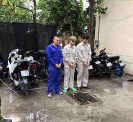 Bắt giữ nhóm đối tượng trộm cắp xe máy liên tỉnh