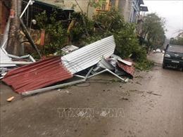 Yên Bái thiệt hại 18 tỷ đồng do lốc xoáy kèm mưa đá