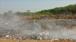 Hàng nghìn khối rác âm ỉ cháy gần 3 tháng, ô nhiễm môi trường nghiêm trọng