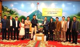 Hà Giang tiếp nhận vật tư y tế phục vụ công tác phòng chống dịch COVID-19