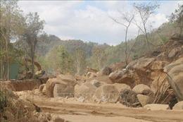 Xử lý chủ đầu tư cố tình khai thác khoáng sản trái phép tại Bà Rịa-Vũng Tàu