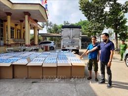 Bắt giữ vụ vận chuyển gần 300.000 chiếc khẩu trang y tế qua Campuchia tiêu thụ