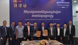 Doanh nghiệp Việt Nam tại Campuchia ký thỏa thuận hợp tác chiến lược
