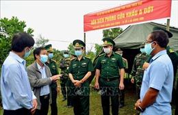 Thừa Thiên - Huế cần 20.000 kit xét nghiệm nhanh để phân loại, giám sát công dân về từ Lào