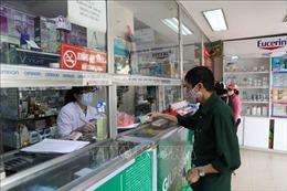 Yêu cầu các cơ sở bán lẻ thuốc thực hiện đầy đủ biện pháp phòng, chống dịch COVID-19