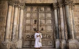 Lễ Phục sinh vắng lặng chưa từng thấy ở vùng Đất Thánh