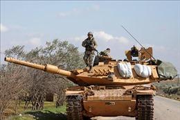 Thổ Nhĩ Kỳ điều 20 xe quân sự đến Syria