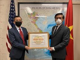 Ấm áp tình cảm hướng về Tổ quốc của kiều bào Việt Nam tại Mỹ