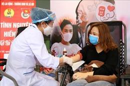 Trung ương Hội Liên hiệp Thanh niên Việt Nam phát động hiến máu tình nguyện
