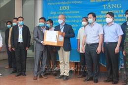 Đồng tâm hiệp lực với người anh em Lào – Tấm lá chắn vững chắc nơi biên cương chống dịch COVID-19