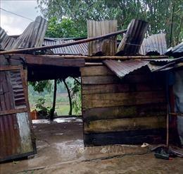 Quảng Trị: Khẩn trương khắc phục hậu quả mưa đá và lốc xoáy tại huyện Đakrông