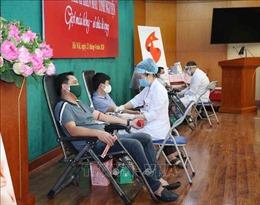 Ủy ban Kiểm tra Trung ương tổ chức hiến máu tình nguyện