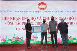 Hà Nội: Tiếp nhận ủng hộ bằng tiền mặt và hiện vật trị giá hơn 101 tỷ đồng