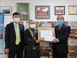 Hỗ trợ công dân Việt Nam tại Nhật Bản gặp khó khăn vì dịch COVID-19