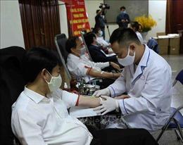 Hội Nông dân Việt Nam tham gia hiến máu tình nguyện