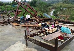 Mưa đá kèm gió lốc làm hai người chết, một mất tích ở Lai Châu