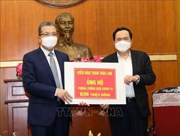 Kiều bào ở Thái Lan, Hàn Quốc ủng hộ chống dịch COVID-19 ở Việt Nam