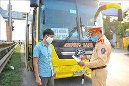 Cảnh sát giao thông toàn quốc bảo đảm trật tự an toàn giao thông và phòng, chống dịch COVID-19 trong dịp nghỉ lễ