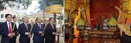 Thủ tướng Nguyễn Xuân Phúc dâng hương tại Hoàng thành Thăng Long