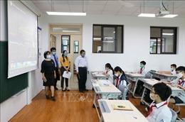 Hà Nội duy trì nghiêm phòng dịch COVID-19 trong các trường học