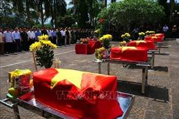 Truy điệu và an táng hài cốt các liệt sỹ tại Nghĩa trang liệt sỹ quốc gia Vị Xuyên