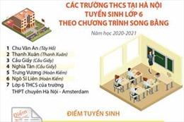 Các trường THCS tại Hà Nội tuyển sinh lớp 6 theo chương trình song bằng