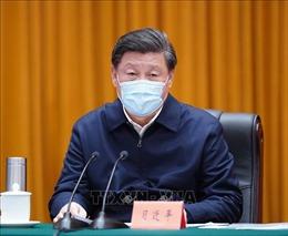 Ban Thường vụ Bộ Chính trị Đảng Cộng sản Trung Quốc họp bàn về diễn biến mới của dịch COVID-19