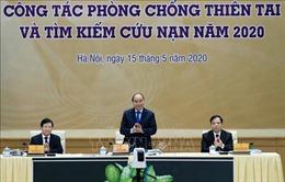 Thủ tướng dự Hội nghị về công tác phòng, chống thiên tai và tìm kiếm cứu nạn