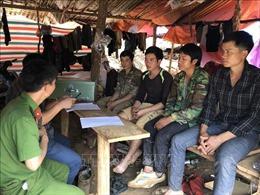 Sơn La: Tập kích điểm khai thác vàng trái phép tại xã Chiềng Lương