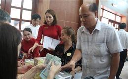 17 hộ đầu tiên nhận gần 70 tỷ đồng đền bù dự án sân bay Long Thành