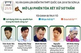 Mở lại phiên tòa xét xử sơ thẩm vụ gian lận điểm thi THPT quốc gia 2018 tại Sơn La