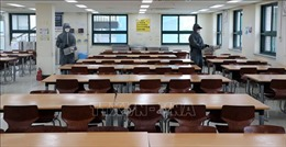 Hàn Quốc yêu cầu các trường đảm bảo giãn cách với 70% số học sinh đến lớp