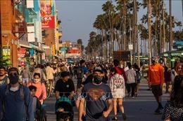 Bang California của Mỹ nới lỏng thêm các lệnh hạn chế