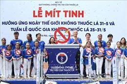 Ngày thế giới không thuốc lá 31/5: Bảo vệ thanh thiếu niên khỏi tác động của thuốc lá