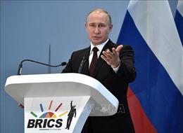 Tổng thống V. Putin kêu gọi người dân Nga tích cực tham gia bỏ phiếu về sửa đổi Hiến pháp