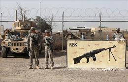 Mỹ cam kết giảm quân số đồn trú ở Iraq