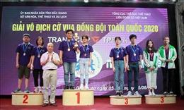 Kết thúc Giải vô địch cờ vua đồng đội toàn quốc 2020