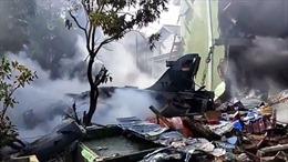 Máy bay tiêm kích bị rơi tại Indonesia