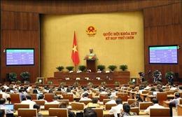 Quốc hội thông qua Luật Đầu tư theo phương thức đối tác công tư (PPP)