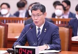 Tổng thống Hàn Quốc chấp thuận đơn từ chức của Bộ trưởng Thống nhất