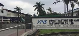 Công ty TNHH Taeyang bị phạt hơn 50 triệu đồng vì vi phạm an toàn vệ sinh thực phẩm