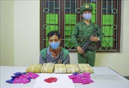 Khống chế đối tượng vận chuyển 30.000 viên ma túy tổng hợp tại cột mốc 93 biên giới Việt - Lào