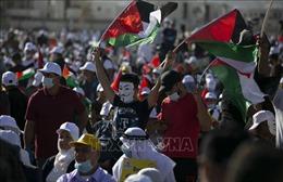 Hàng nghìn người dân Palestine tuần hành phản đối kế hoạch hòa bình của Mỹ
