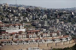 Israel dự định sáp nhập 2-3 khu định cư tại Bờ Tây