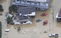 Mưa lớn tiếp tục đe dọa vùngKyushu, Nhật Bản