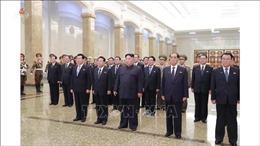 Nhà lãnh đạo Triều Tiên viếng lăng cố Chủ tịch Kim Nhật Thành