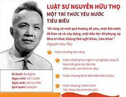 Luật sư Nguyễn Hữu Thọ Một trí thức yêu nước tiêu biểu