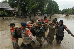 Lũ lụt gây thương vong nghiêm trọng tại Indonesia
