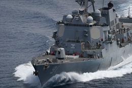 Venezuela chỉ trích tàu chiến Mỹ xâm phạm lãnh hải